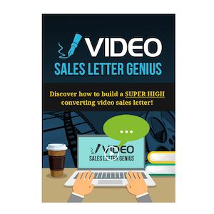 Video Sales Letter Genius eBook Cover edmediastore