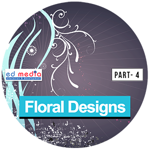 Floral Designs and design elements from edmediastore