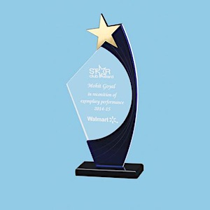 Excellent Acrylic Star Awards