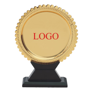 Great design in Shield Award Golden Bold Design