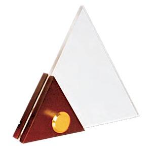 Excellent acrylic-trophy-triangle-edmediastore